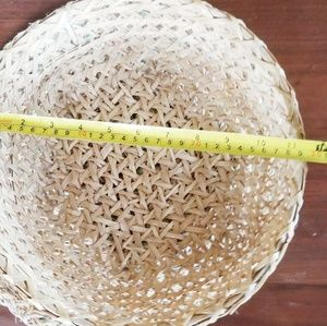 Accents - Hand crafted Farmhouse wicker basket